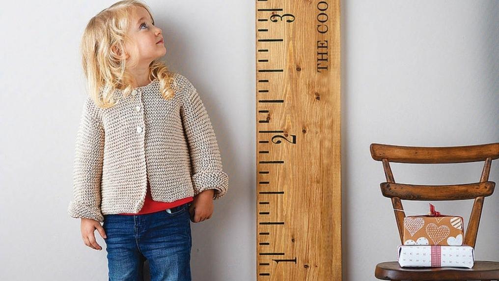 Зростання і вага дитини в 1 рік