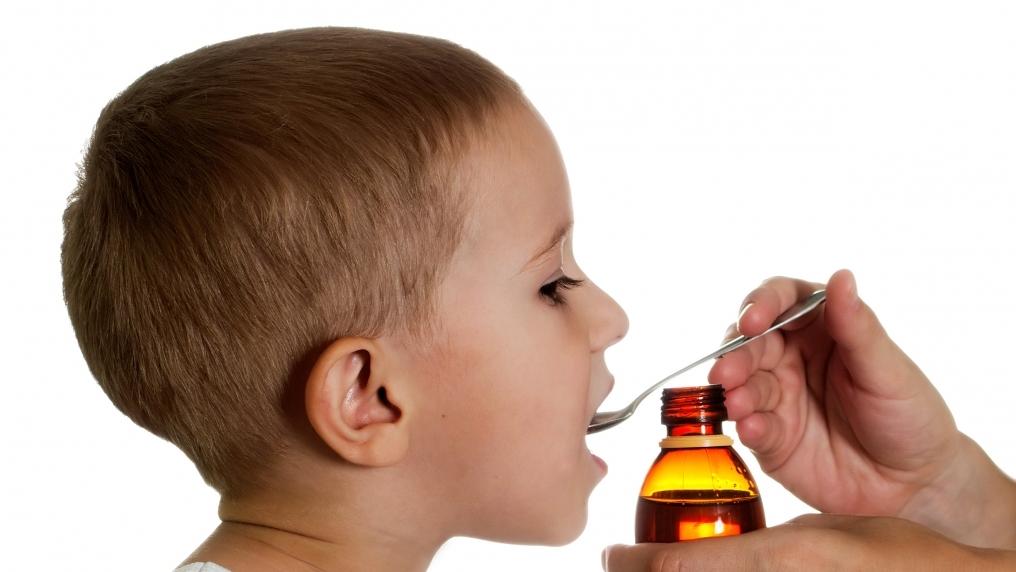 Против сухого кашля для детей