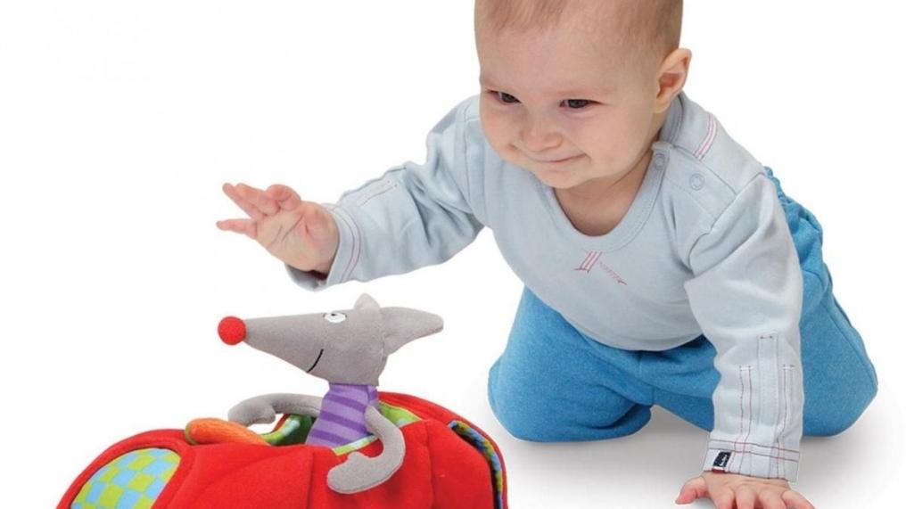 Игры для детей в 6 месяцев